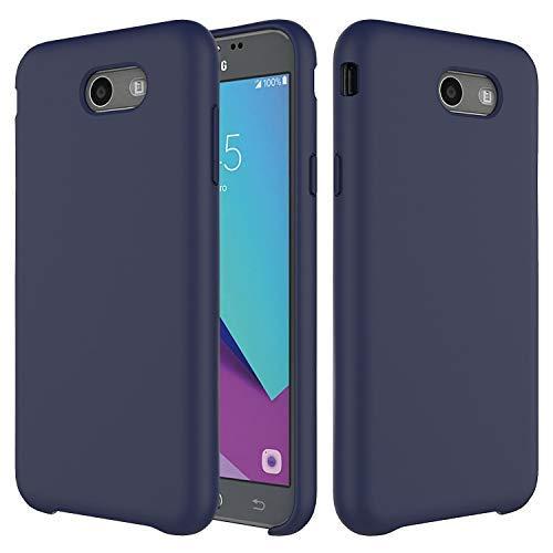 purchase cheap 98469 ecb78 Galaxy J7 2017 Case,J7 Prime,Galaxy J7 V,J7 Sky Pro,J7 Perx Silicone Case,  Soft Touch, Comfortable Grip, Slim Fit, lovemecase Liquid Silicone Case ...