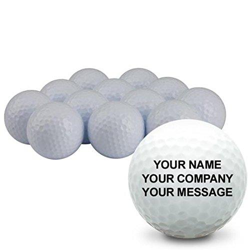 Blank Personalized Golf Balls Custom Golf Balls