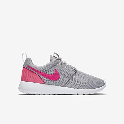 Nike Kids Roshe One GS, WOLF GREY/HYPER PINK-COOL