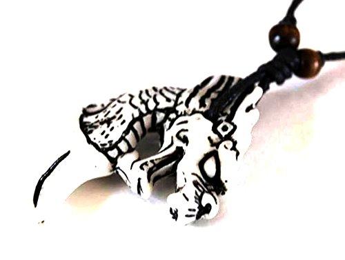 Carved Bone Dragon Necklace For Men Guys Buy Online In Aruba At Desertcart