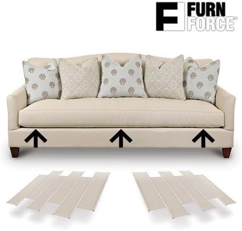 Paneles para Sofá, Blanco, 48 x 10.5 x 3 cm, 6 Unidades