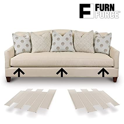 Hasëndad Furn Force - Paneles para Sofá, Blanco, 48 x 10.5 x 3 cm, 6 Unidades: Amazon.es: Hogar