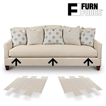 Hasëndad Furn Force - Paneles para Sofá, Blanco, 48 x 10.5 x 3 cm, 6 Unidades
