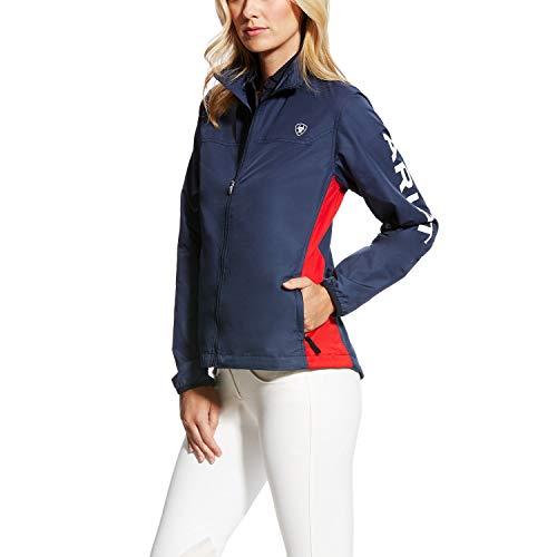 Windbreaker Ariat Pour Team Marine Femme Ideal Veste Bleu Pz5wFzgqn