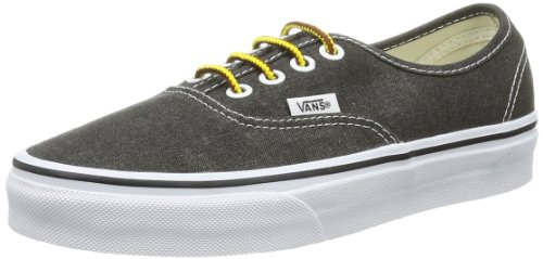 Erwachsene Schwarz U Washed BLACK Vans Black Unisex WASHED VVOE4JT AUTHENTIC Sneaker 68nqwaY