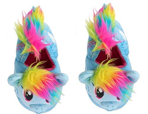 My Little Pony Girls Slide Slippers Rainbow Dash (S 5-6) -