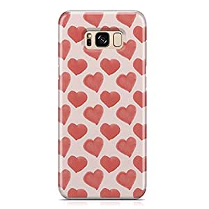 Samsung S8 Case Heart Love Pattern Pattern Great For Girls Cute Design Sleek Finish Durable Samsung S8 Cover Wrap Around 75