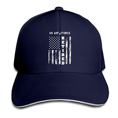 GFGS LKKG US AIR Force Retired American Flag Unisex Hats Trucker Hats Dad Baseball Hats Driver Cap