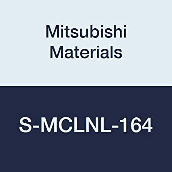 Mitsubishi Materials S-MCLNL-164 S-MCLN Series Multiple Clamp Boring Bar with 0.500 IC Rhombic 80/° Insert 1.280 Minimum Cutting Dia. 95/° Cutting Angle 1 Shank Dia Steel Shank Left