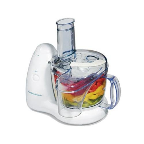 Hamilton Beach 8 Cup PrepStar Food Processor, 350 Watt motor and two speeds plus pulse 70550R