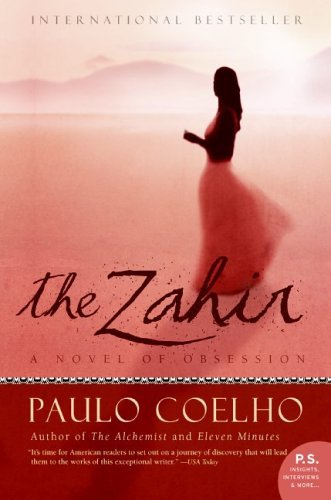 The Zahir: A Novel of Obsession cover
