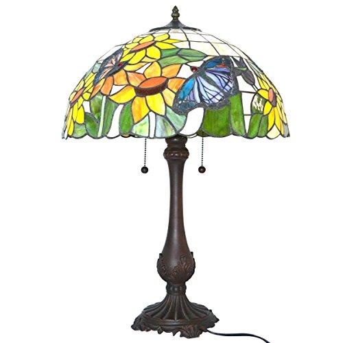 Nuomeiju Lighting NMJ153 Tiffany-Style M - 1 Iris Table Lamp Shopping Results