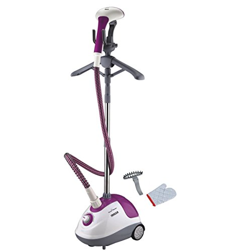 Inalsa Steam Master 1600-Watt Garment Steamer (White/Purple)