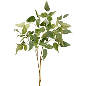 "36"" Clematis Leaf Spray Green Gray (pack of 12) 92"