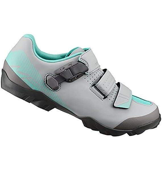 SHIMANO SHME3PG440WG00 - Zapatillas Ciclismo, 44, Gris - Verde, Mujer: Amazon.es: Deportes y aire libre