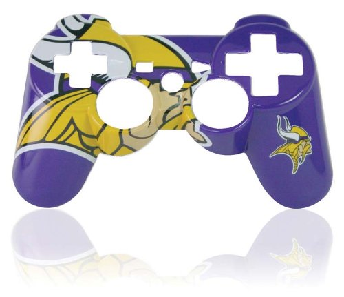 PS3 Official NFL Minnesota Vikings Controller Faceplate