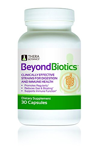 Probiotics Supplement - Dr Formulated - Beneficial Bacteria - Bio Immune System Support, Gas Relief, Upset Stomach, Belly Bloating, Constipation, Diarrhea, Digestive Health Advantage - BEYOND BIOTICS!