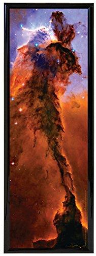 Culturenik Enormous Eagle Nebula Galaxy Planet Decorative Inspirational Poster Print Framed 11.75x36 SP0355-F