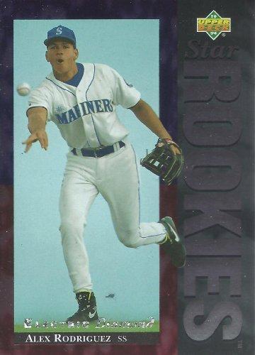 Alex Rodriguez 1994 Upper Deck Electric Diamond #24 Seattle Mariners (1994 Upper Deck Alex Rodriguez Electric Diamond)