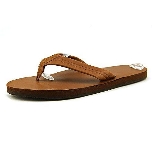 Rainbow Sandals Men's Premier Leather Double Layer with Arch Wide Strap, Classic Tan/Brown, Men's X-Large / 11-12 D(M) US