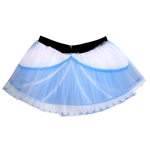 Gone For a Run Runners Printed Tutu by Lightweight | One Size Fits Most | colorful Running Skirts | Glass Slipper by Gone For a Run