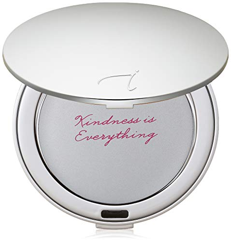 jane iredale Refillable Compact, Silver, 1.37 - Silver Refillable