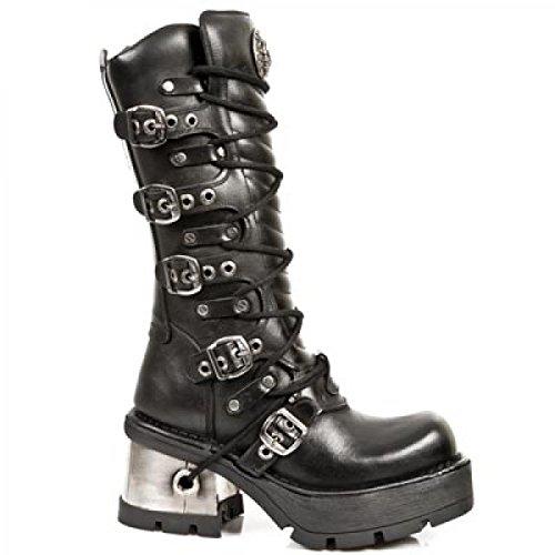 New Rock Boots M.1016-s1 Hardrock Punk Gotico Unisex Stiefel Schwarz