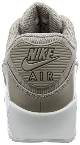 Nike Mens Air Max 90 Premium Löparsko Gatsten / Vit