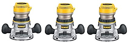 Dewalt dw616 1 34 horsepower fixed base router 3 pack amazon dewalt dw616 1 34 horsepower fixed base router 3 pack keyboard keysfo Image collections