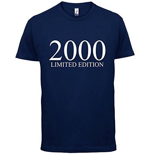 2000 Limierte Auflage / Limited Edition 17 Geburtstag Herren TShirt Navy XL  -rewe-foerster.de