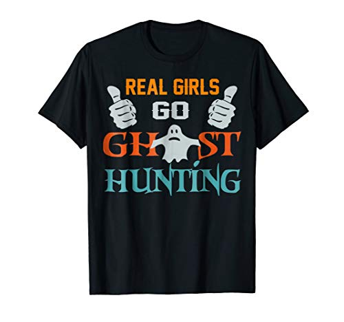 Vintage Reals Girl Go Ghost Hunting Halloween -