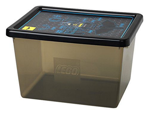 LEGO Batman Large Storage Box Transparent Black