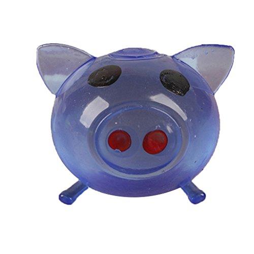 1Pc Anti-stress Decompression Splat Ball Vent Toy Smash Various Styles Pig Toys -