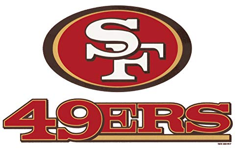 San Francisco 49ers Logo NFL Edible Cake Topper Image ABPID05230 - 3