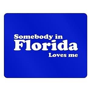 Teeburon Somebody in Florida loves me Plastic Acrylic