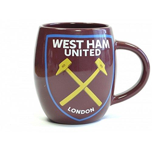(West Ham United FC Official Tea Tub Mug (One Size) (Claret))