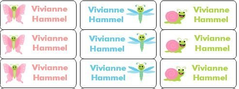 295e4d69b21b 30 Personalized Waterproof Name Labels Disney Princess Labels Disney ...