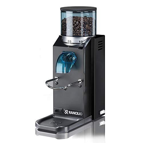 Rancilio Rocky Espresso Grinder - Doserless - Black 20th Ann