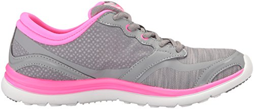 Carrara Shoe Womens Pink Ryka Grey Running gfwU5pxn