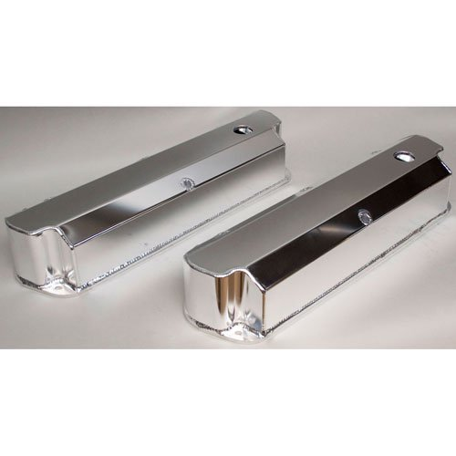 PRW 4030211 Polished Aluminum Valve Cover for Ford 302/351W -