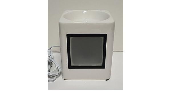 Amazon.com: Scentsy Sleek White Full Size Wax Warmer: Home & Kitchen