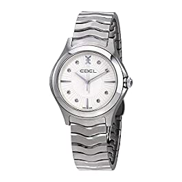 EBEL Women's 1216302 Analog Display Swiss Quartz Silver Watch