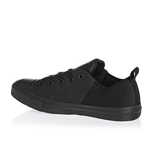 Womens Converse Chuck Taylor All Sneaker Stelle Sloane In Pelle Nera Mono