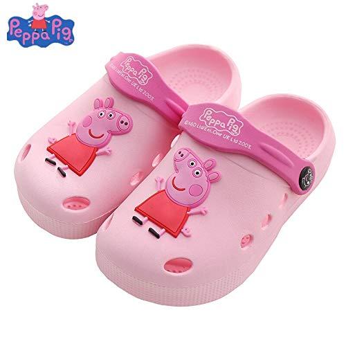 VIETXA New Peppa Pig Children's Garden Shoes Baby Boys Girls Summer Cartoon Anti-Skid Indoor Kids Peppa George Pig Slippers Toys - Complete Series Merchandise