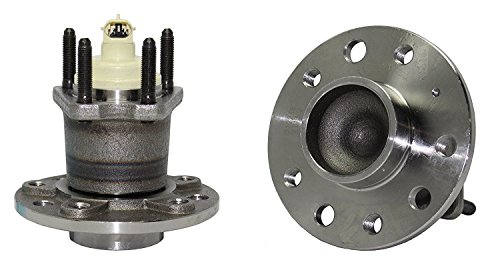 Detroit Axle - Brand New (Both) Rear Wheel Hub and Bearing Assembly for Saturn L100,200,300 5 Lug W/ABS (Pair) 512238 x ()