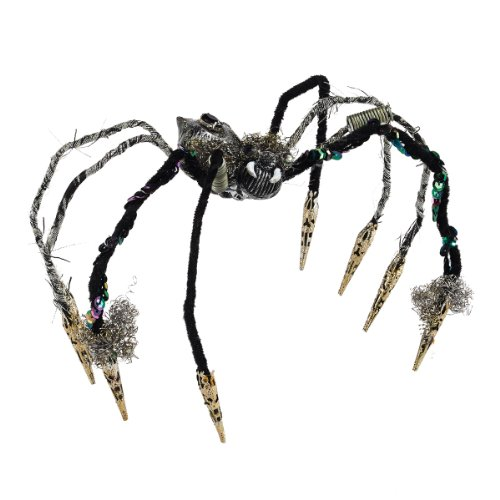 Department 56 Halloween Decor Jeweled Spider Figurine, 4 inch (Halloween 56 Spider)