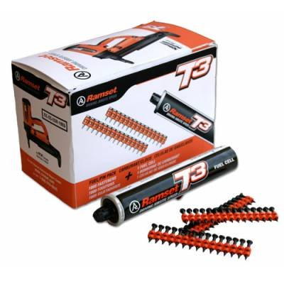 """ITW Ramset Red Head T3012 1/2"""" Steel pin with T3 Fuel Cell"""