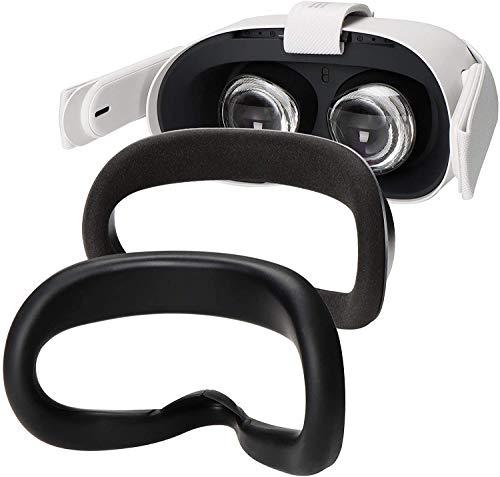 Silicone Face Cover Colohas para Oculus Quest 2 - black