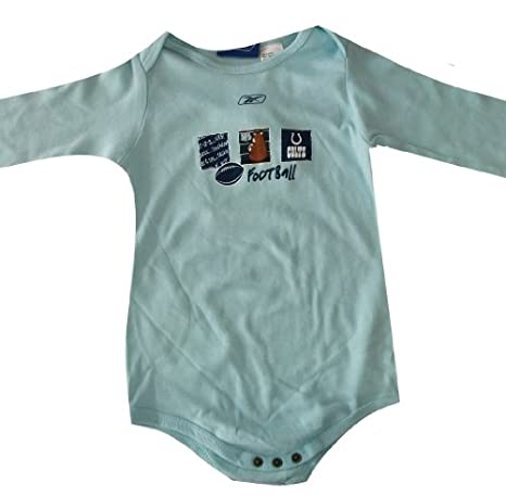 a339b37c Amazon.com: Indianapolis Colts Baby Blue Long Sleeve Baby / Infant ...