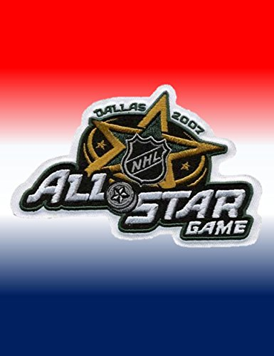 2007 All Star Jersey (2007 NHL All-star Game Jersey Patch Dallas Stars)